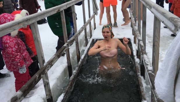 Крещение в Барнауле. 19 января 2020 года.