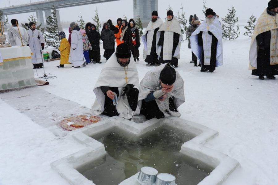 Крещение-2020 в Барнауле.