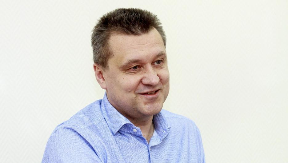 "Павел Тулин, экс-директор клуба ""АлтайБаскет"""
