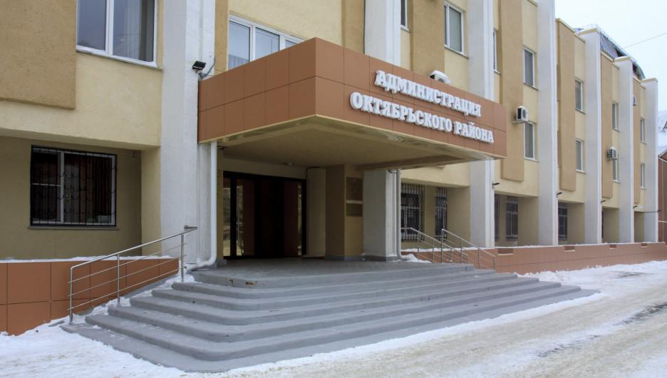 Барнаул. Очистка снега.