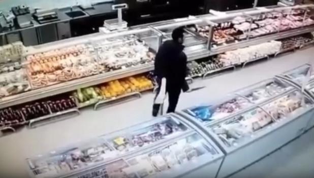 "Мужчина с ножом в ""Марии-Ра""."