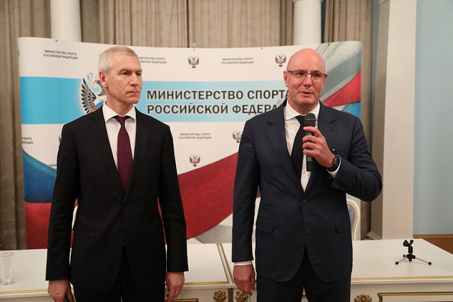 Олег Матыцин и Дмитрий Чернышенко.