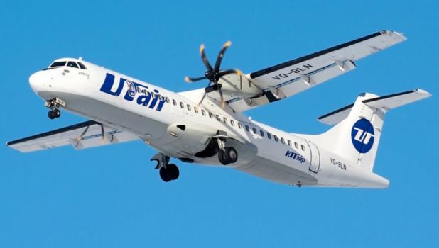 Самолет авиакомпании Utair.