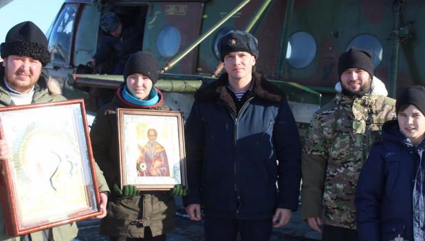 Священники с сотрудниками Росгвардии совершили молитвенный облет Иркутска.