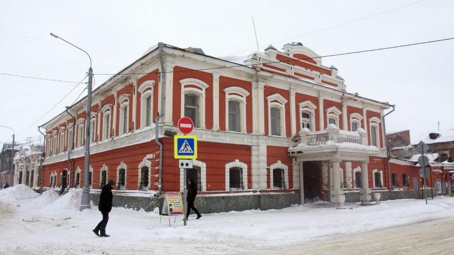 Дом купца и мецената Василия Сухова.