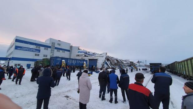 В Прокопьевске рухнула крыша завода.
