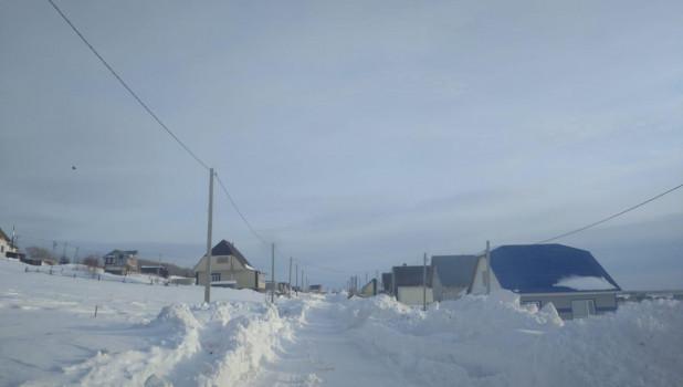 Дороги в поселке Центральном почистили от снега.