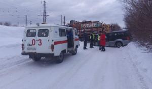 Авария в Тальменском районе.