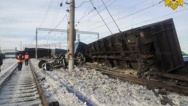 ЧП на железной дороге в Иркутской области.