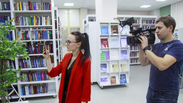 Открытие третьего этажа библиотеки имени В.Я. Шишкова.