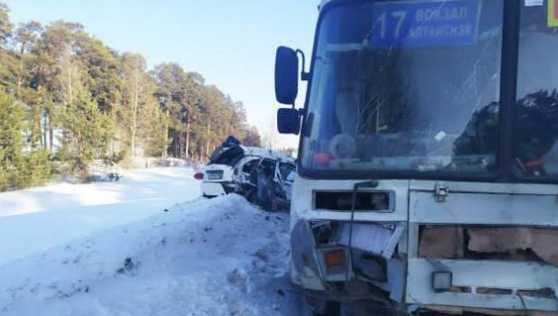 ДТП в Бийске 1 февраля.