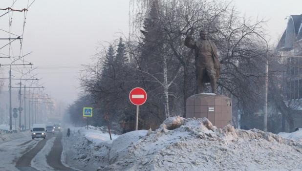 Дороги в Рубцовске