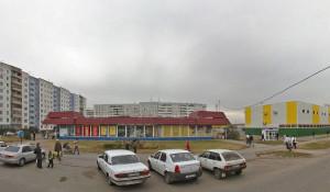 """ТЦ """"Юбилейный"""" на п. Южный в Барнауле."""