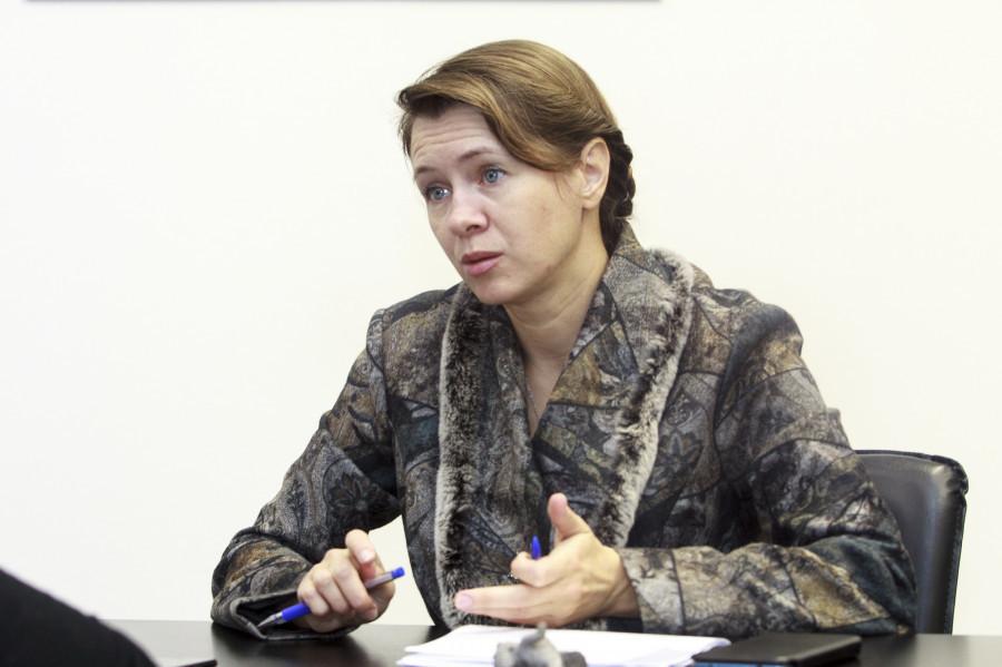 Елена Безрукова.