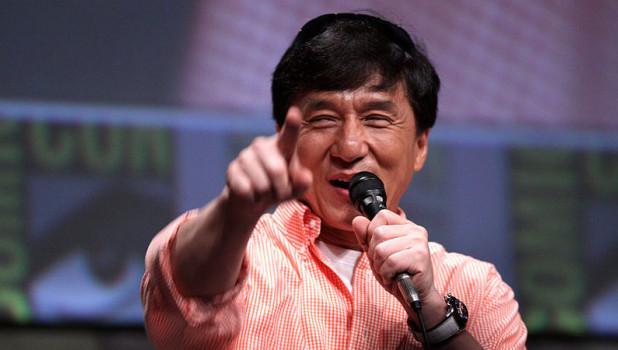 Джеки Чан.