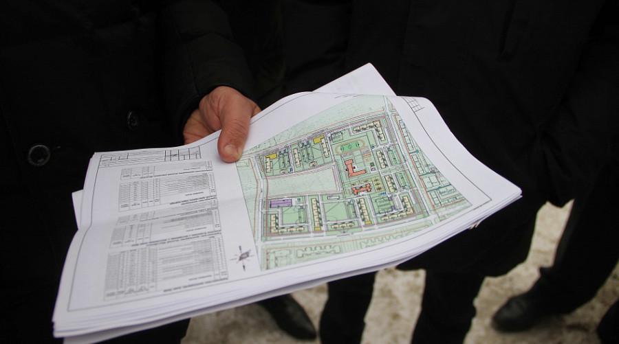 Чиновники обсудили место под ФОК.