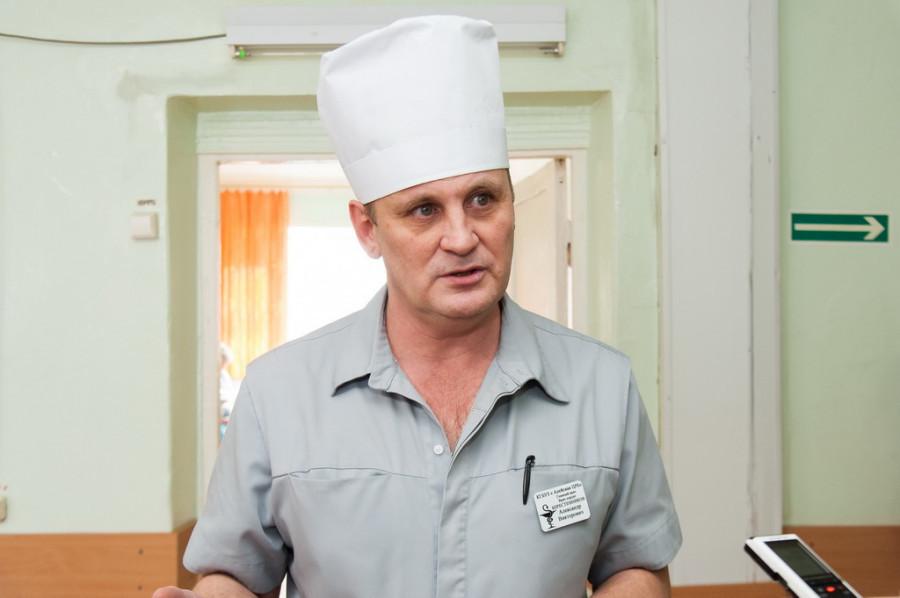 Александр Берестенников, главный врач Алейской ЦРБ