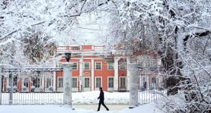 Барнаул в снегу.