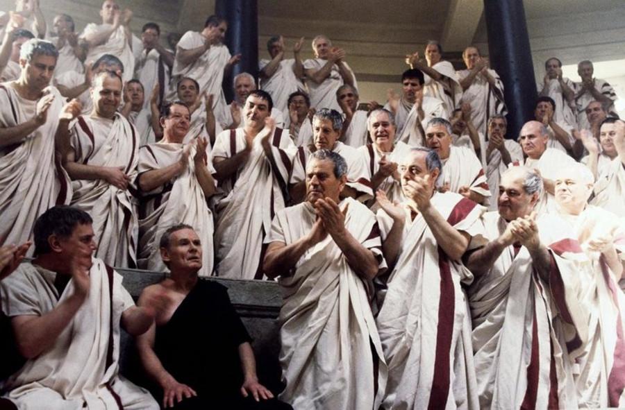 Сенаторы. Древний Рим.