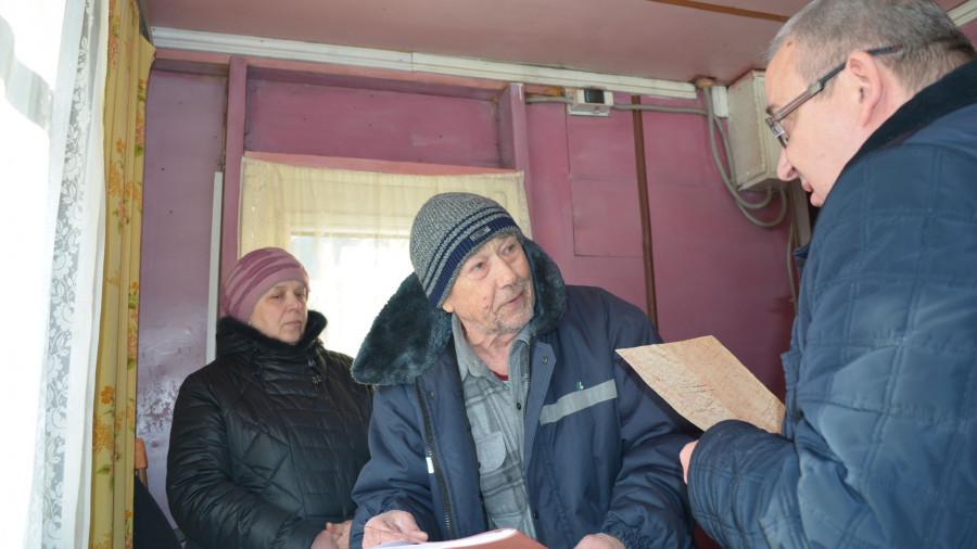 Встреча с жителями оштрафованной улицы в Барнауле.