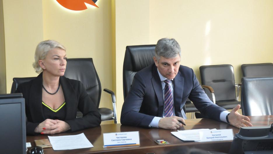 Чистякова Светлана, Нагорнов Валерий.