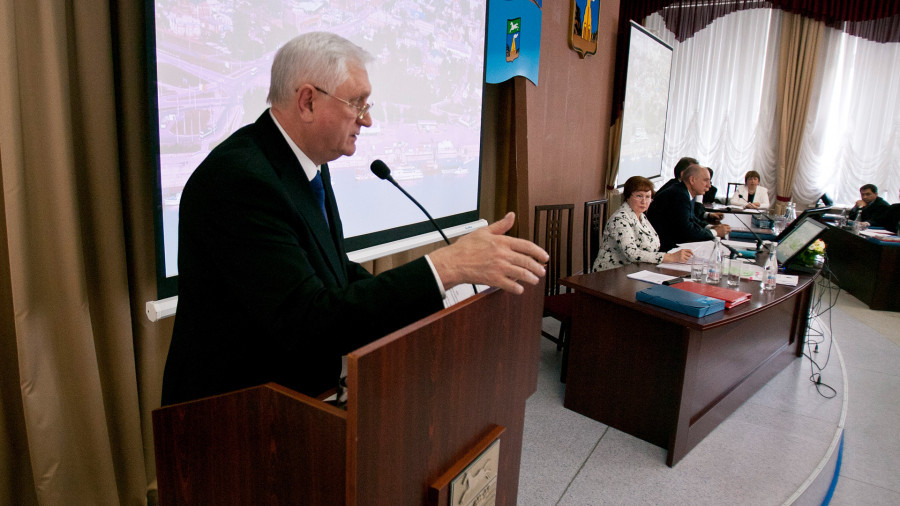 Игорь Савинцев, глава администрации Барнаула с 2010 по 2015 годы.