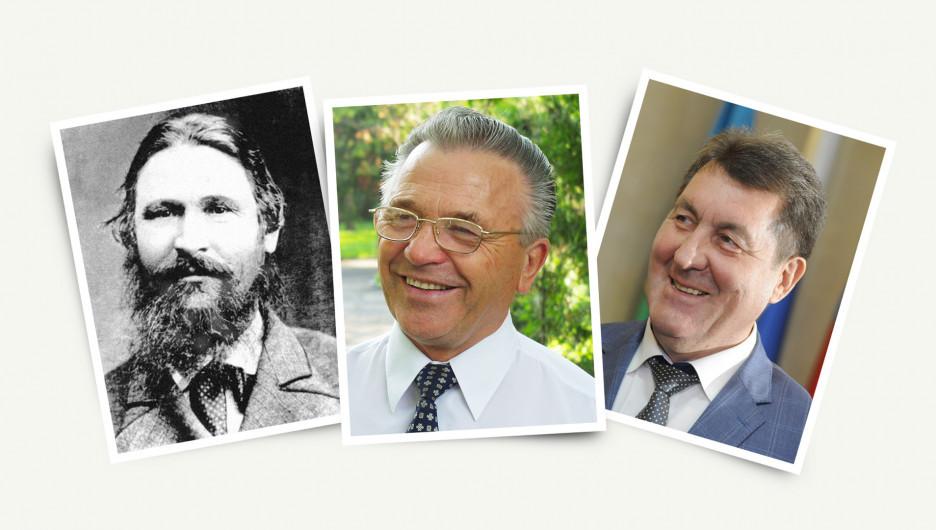 Барнаульские градоначальники.