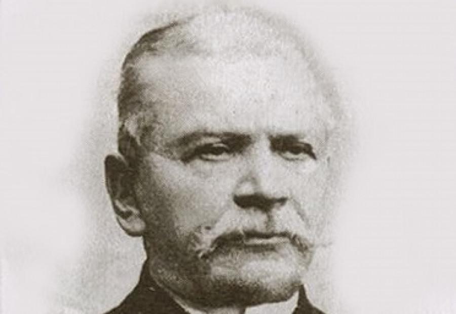 Николай Давидович-Нащинский, первый городской голова Барнаула с 1877 по 1882 годы.