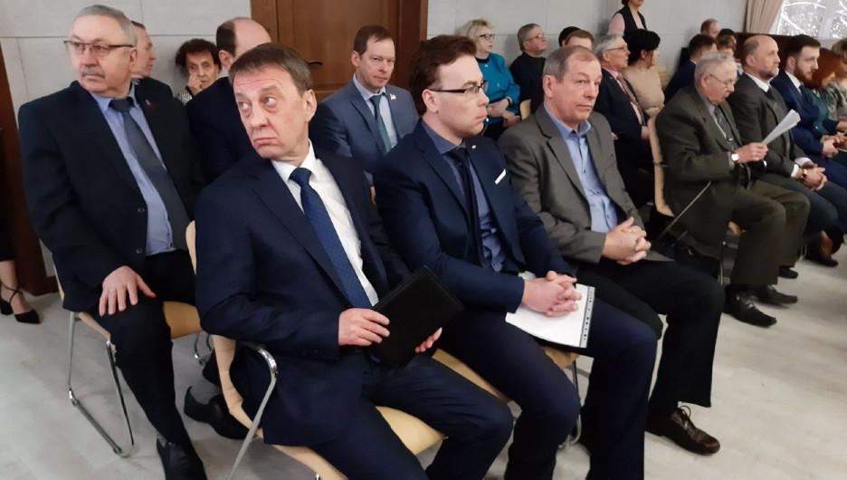 Кандидаты на пост главы Барнаула.
