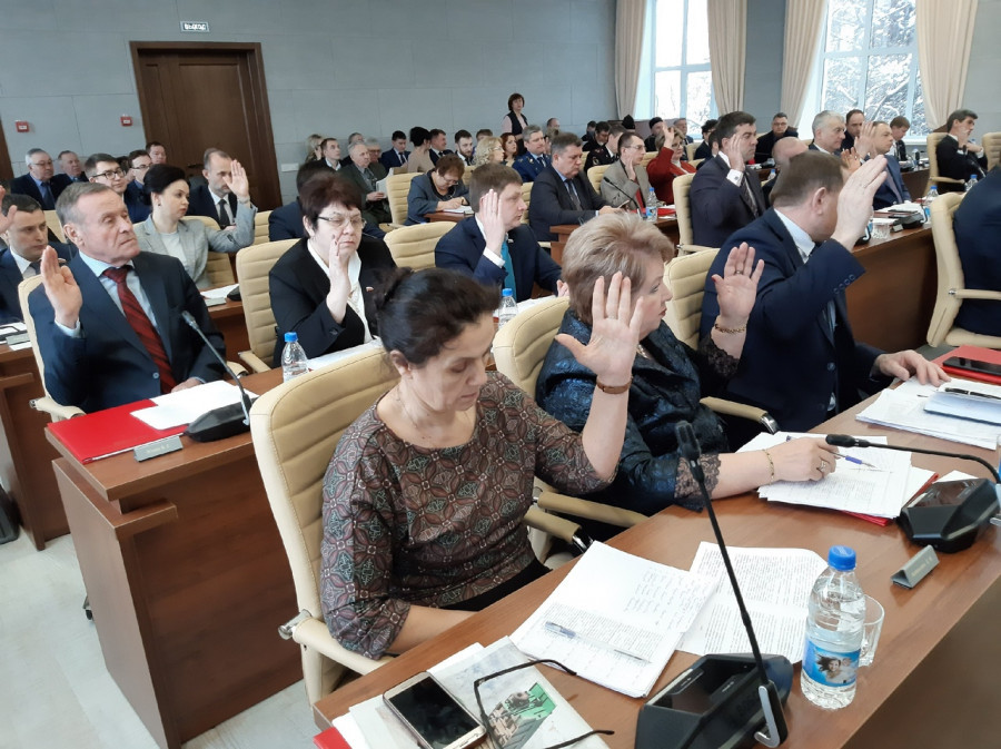 Депутаты гордумы Барнаула.