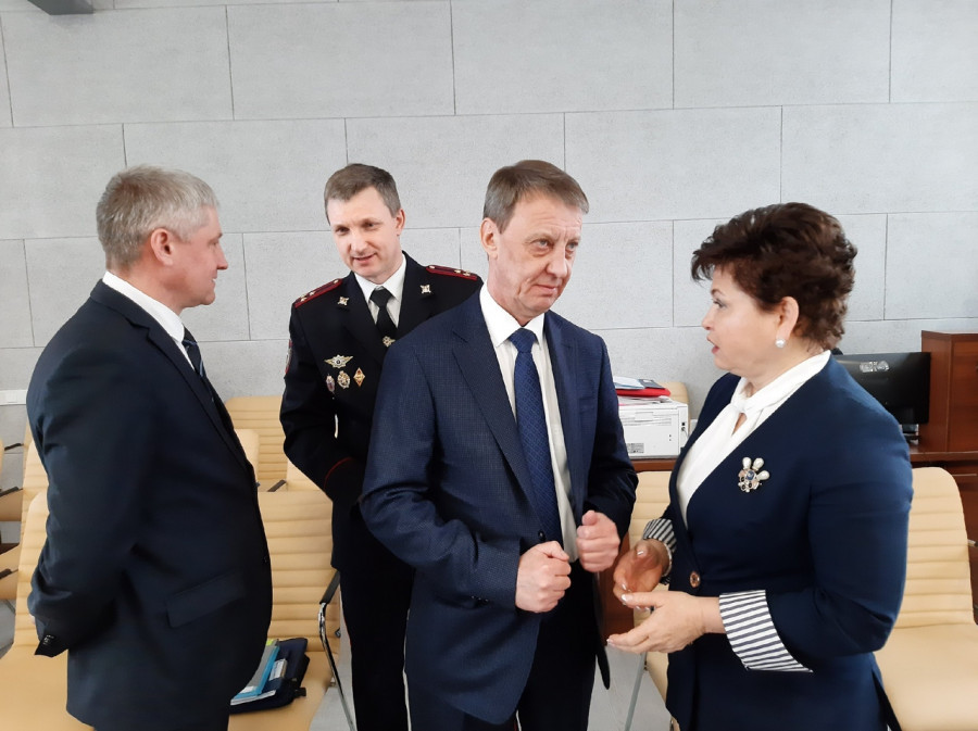 Вячеслав Франк и Стелла Штань.