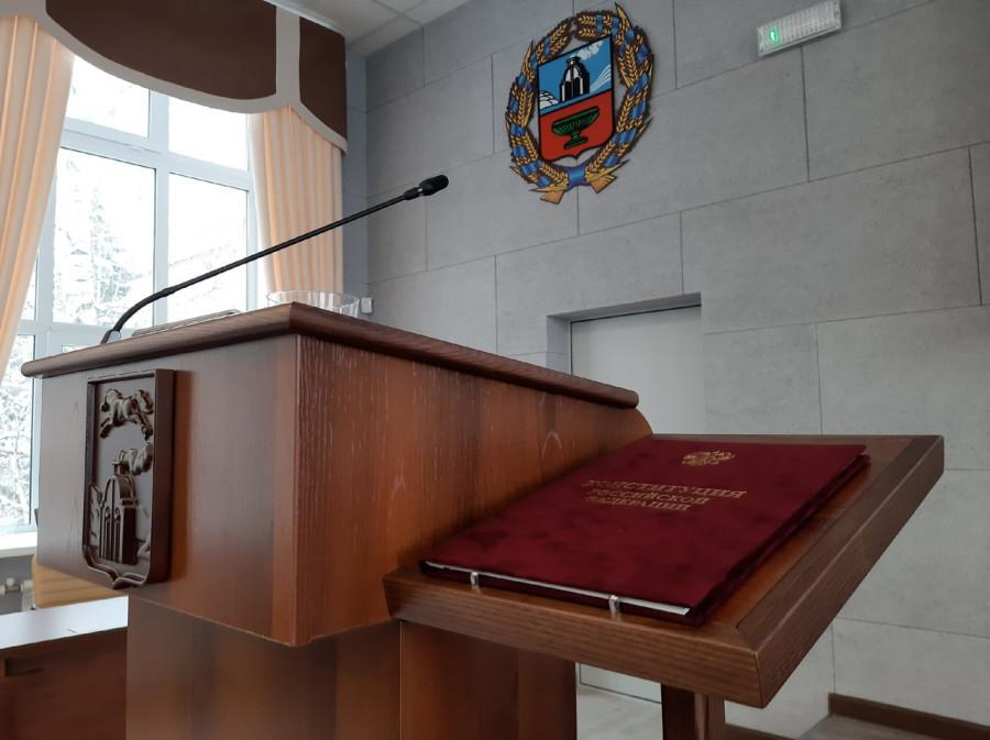 Подготовка к присяге нового главы Барнаула.
