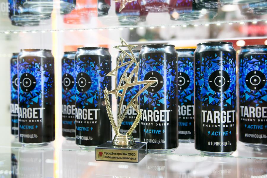 Безалкогольный энергетик TARGET energy drink.