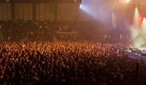 Во Дворце спорта прошел первый большой концерт