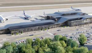 Перспективный вариант развития аэропорта Барнаула.