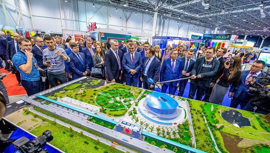 Отраслевая выставка «Сибирская строительная неделя».