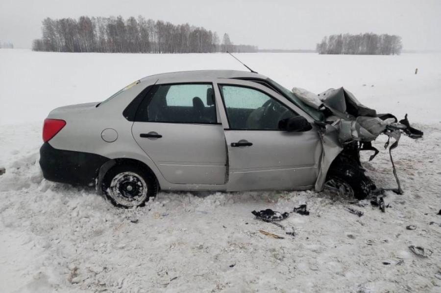ДТП на Чуйском тракте 20 февраля.
