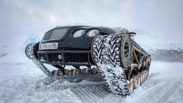 Bentley Ultratank блогера AcademeG.