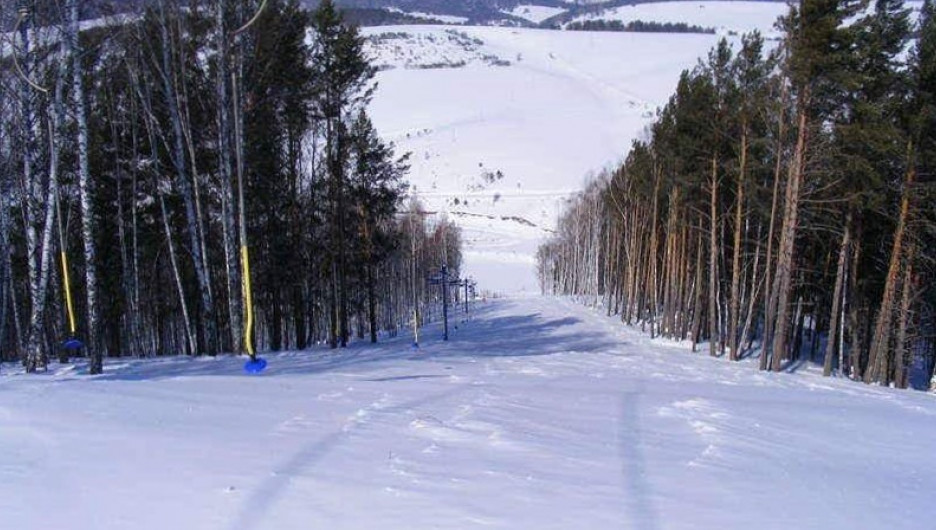 В Алтайском районе Алтайского края.