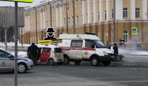 ДТП на ул. Молодежной.