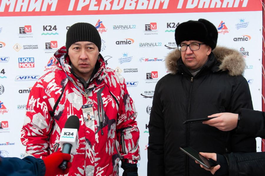 Андрей Ан и Алексей Рыбников.