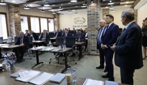 Заседание Союза промышленников региона.