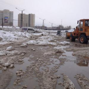 Коммунальная авария на ул. Малахова 27 февраля.