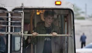 Троллейбус в Барнауле.