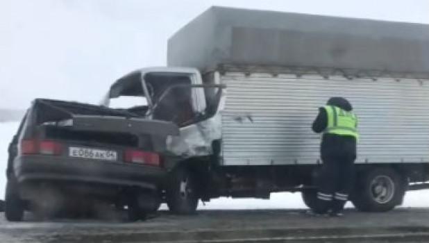 ДТП на трассе Барнаул - Бийск.