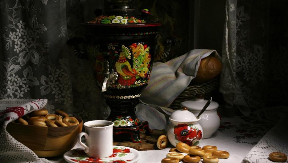 Русская кухня, чай
