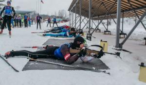 Эстафетная гонка Кубка России среди ветеранов биатлона
