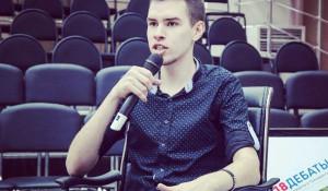 Томский активист Сергей Чайковский.