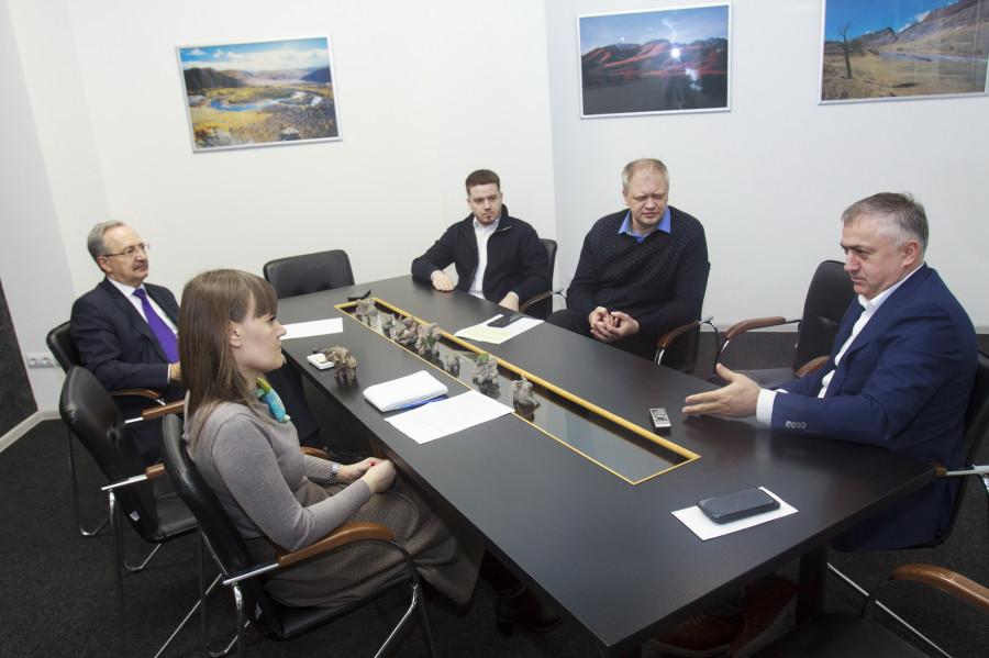 Гарри Шония на интервью редакции altapress.ru