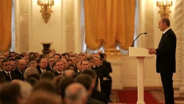 На расширенном заседании Госсовета «О стратегии развития России до 2020 года», 8 февраля 2008.
